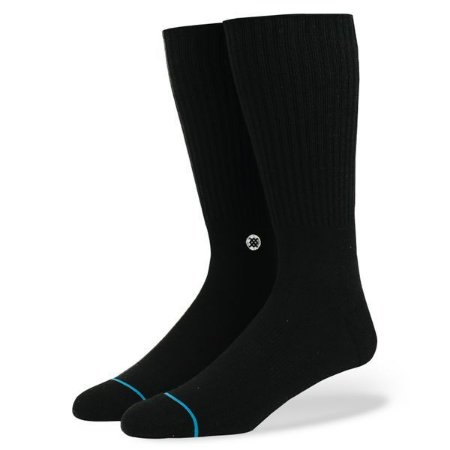 Meia Stance Icon Black/White