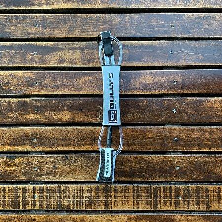 Leash Bullys 6' Competição Premium Series - Transparente