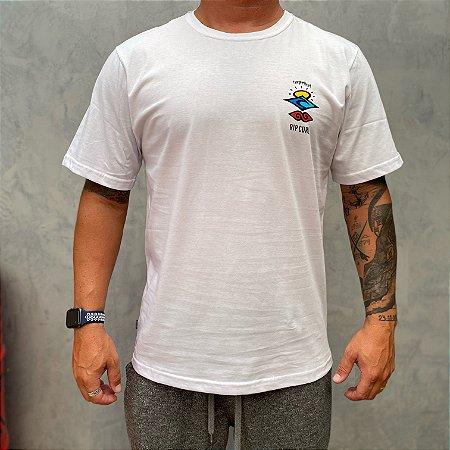 Camiseta Rip Curl Search Logo White