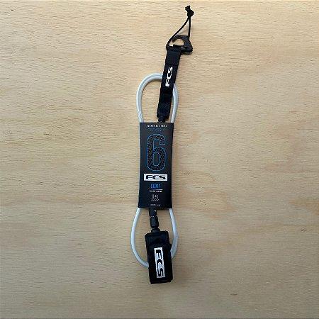 Leash FCS 6' Comp Essential - Branco