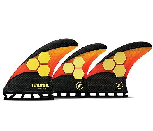 Futures Fins AM2 Techflex 5 Quilhas (Tri e Quadri Quilhas)