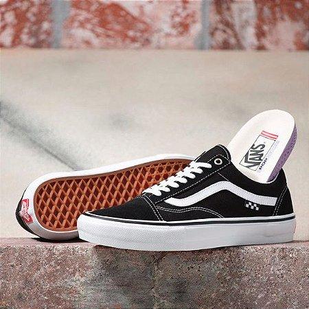 Tênis Vans Old Skool Pro - Black/White