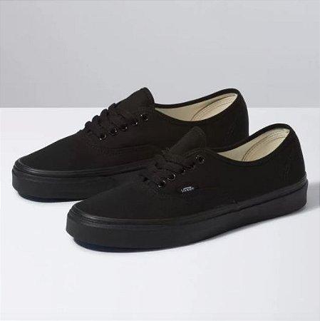 Tênis vans Authentic - Black/Black