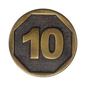 Moeda Genérica - $10
