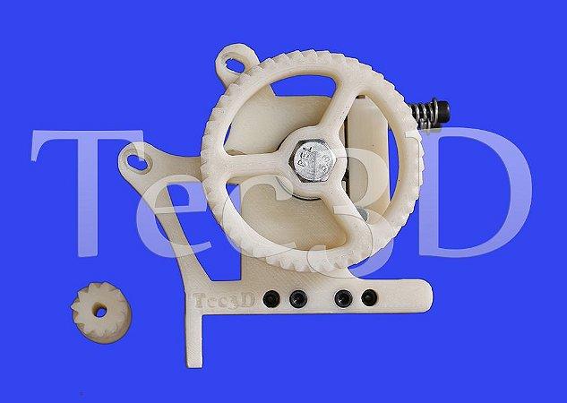Extrusora C/ Suporte P/ Nivelamento automático - Tec3D - Já Vai Montada