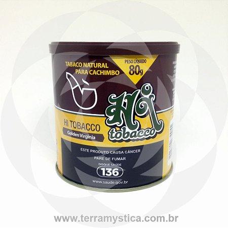FUMO P/ CACHIMBO HI TOBACCO DESFIADO-80g - NATURAL