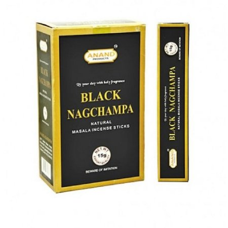 BLACK NAG CHAMPA - Incenso de Massala