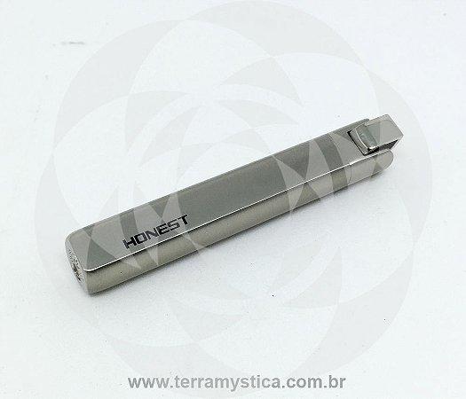 ISQUEIRO HONEST - REF. 144 - Inox Prata