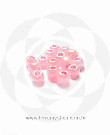 Miçanga Rosa-Perolado - Pct 40g/400 contas