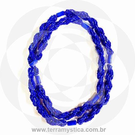 GUIA IMPERIAL - BRAJA AZUL - Trançado com Firma Azul