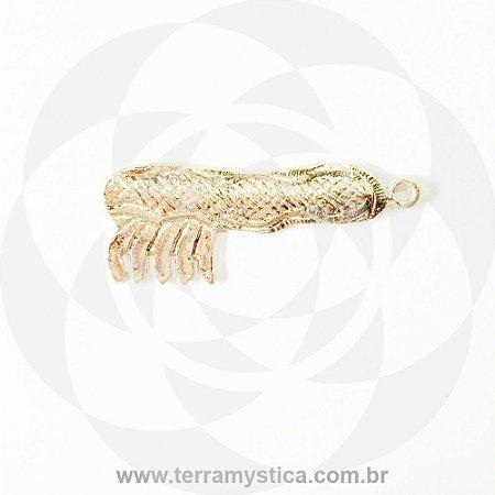 PENTE - Pingente Dourado