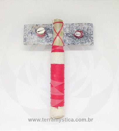 MACHADO DE XANGO ESPECIAL - Branco e Vermelho