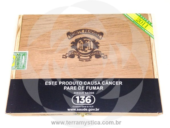 CHARUTO MONTE PASCOAL BELICOSO I Estojo c/ 10un :: SAFRA 2011 ::