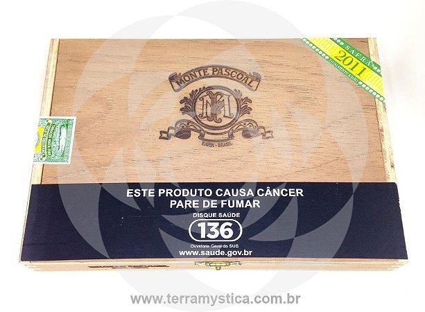 CHARUTO MONTE PASCOAL ROBUSTO I Estojo c/ 10 un :: SAFRA 2011 ::