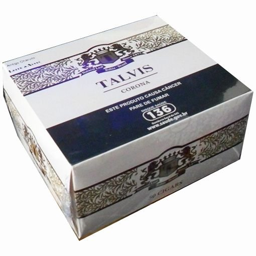 CHARUTO TALVIS (L&A) - CAIXA c/ 50 un - CHOCOLATE