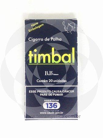 CIGARRO PALHA TIMBAL - Maço c/ 20 un