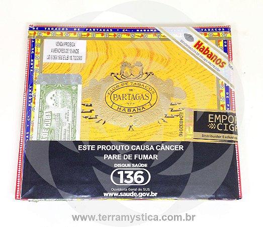 CHARUTO PARTAGAS MILLE FLEURS - Estojo c/ 10 un
