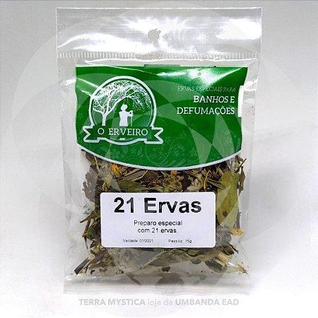 ERVA - 21 ERVAS  - O ERVEIRO