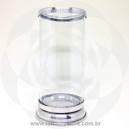 SUPORTE VELA 7 DIAS - Boca e Base de Alumínio