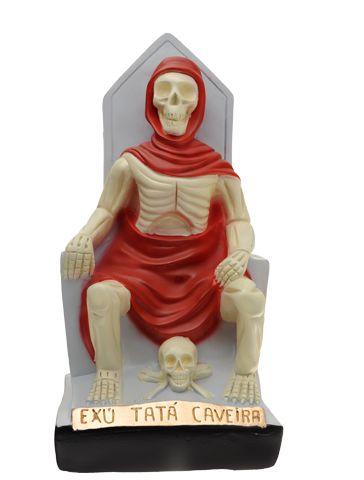 EXU TATA CAVEIRA - 16CM
