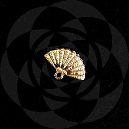 PINGENTE LEQUE - Dourado : Iansã