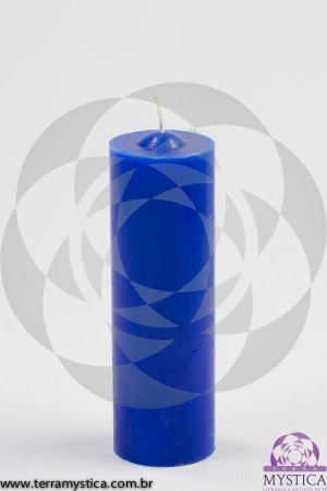 VELA 7 DIAS - Azul Royal