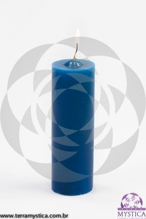 VELA 7 DIAS - Azul Turquesa