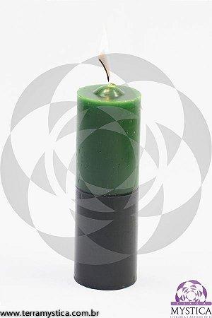 VELA 7 DIAS - Verde e Preto