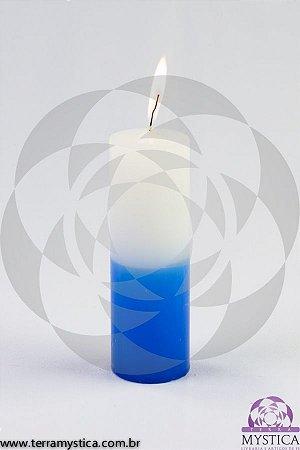 VELA 7 DIAS - Branca e Azul