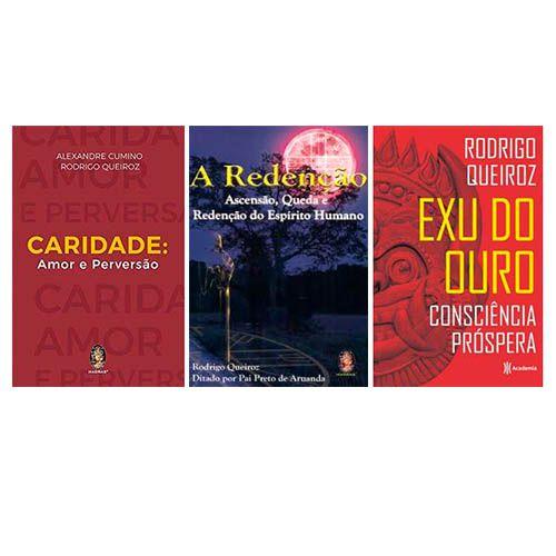 Box Rodrigo Queiroz - Exu do Ouro :: A Redenção :: Caridade