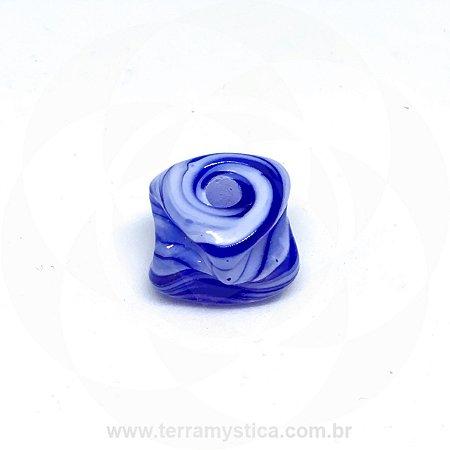 FIRMA METEORO DE VIDRO - Branca e Azul