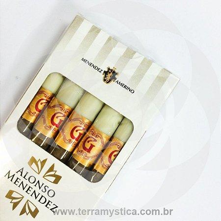 CIGARRILHA GOLD COM PITEIRA I Alonso Menendez :: MÇ c/ 5 un