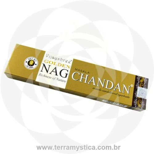INCENSO INDIANO DE MASSALA - GOLDEN NAG CHANDAN