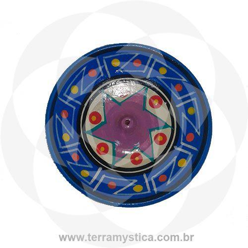 INCENSARIO DE CERAMICA - AZUL