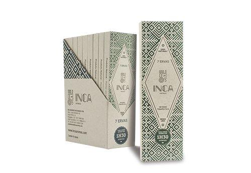 INCENSO INCA - 7 ERVAS - Caixa com 4 varetas