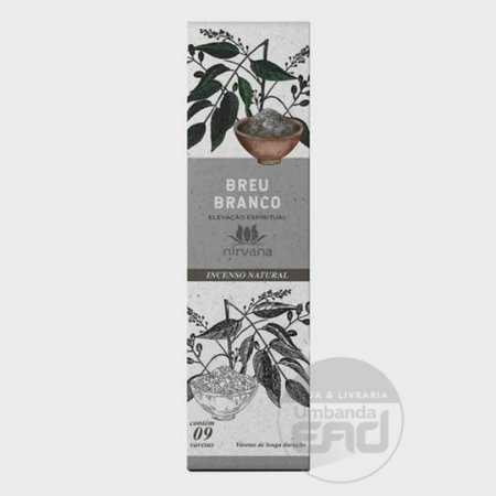 NIRVANA INCENSO NATURAL - BREU BRANCO