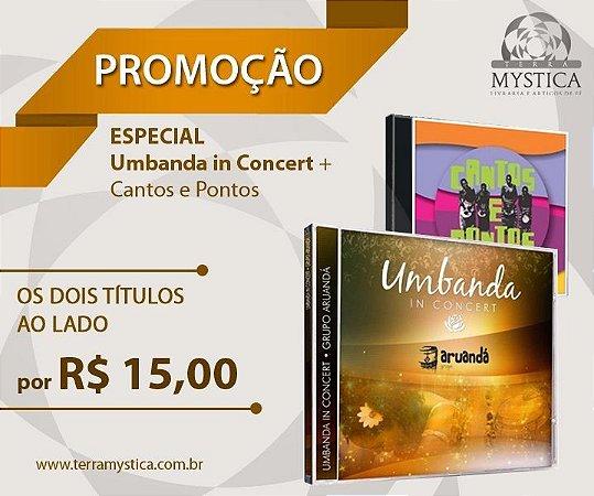 CDs Umbanda in Concert + Cantos e Pontos - apenas 15,00