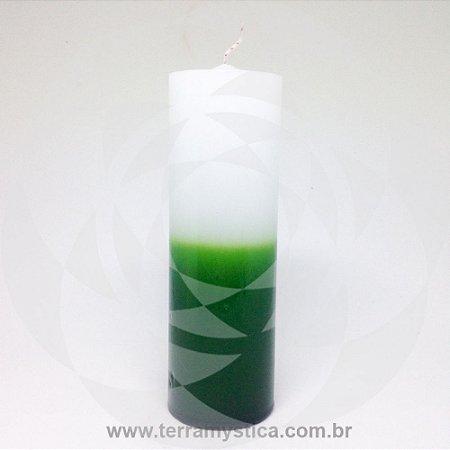 VELA 7 DIAS - Branca e Verde