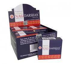 INCENSO INDIANO MASSALA DARSHAN CONE - Golden Nag Vijayshree