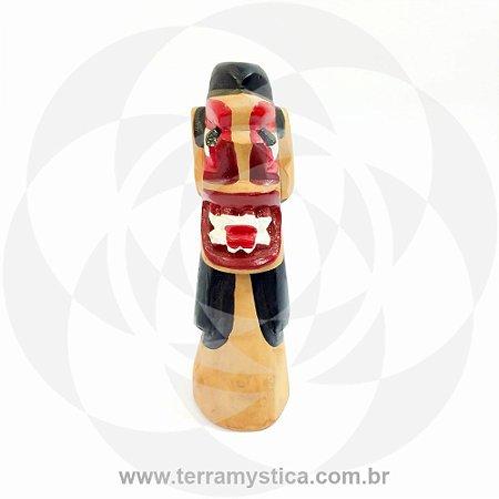 CARRANCA DE MADEIRA - 20 cm