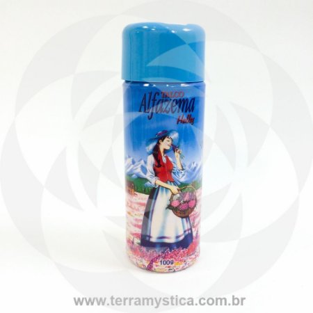 PÓ DE ALFAZEMA HALLEY - 100 gr