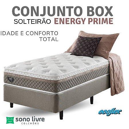 Conjunto Box Solteirão Energy Prime Ecoflex 120 x 200
