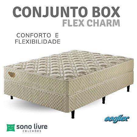 Conjunto Box Flex Charm Ecoflex 128 x 188 x  26