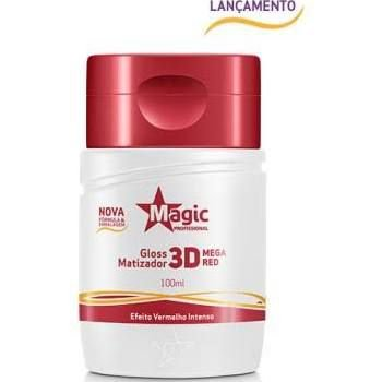 Matizador Gloss 3D Mega Red Magic Professional 100ml