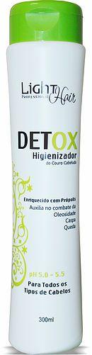 HIGIENIZADOR DETOX  - Higienizador do Couro Cabeludo