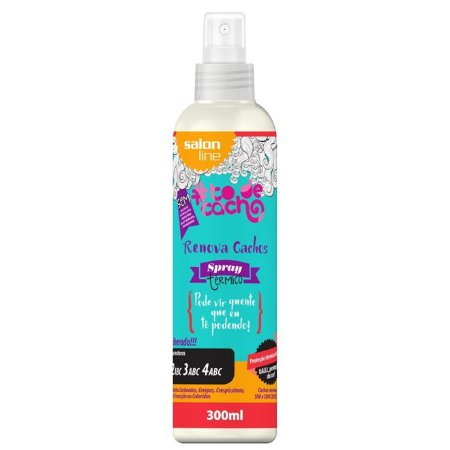 Spray Térmico - Renova Cachos - #todecacho- 300ml Salon Line