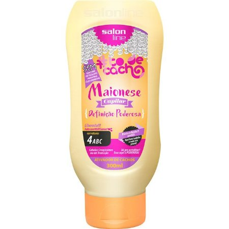 Maionese #TodeCacho - Definição Poderosa 300ml Salon Line