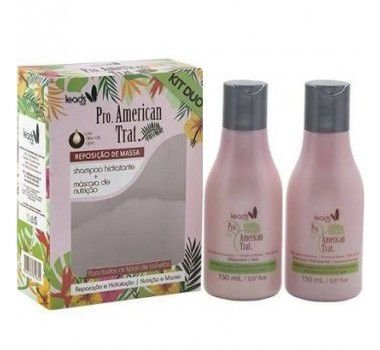 Kit American Trat Leads Care Shampoo e Máscara 150ml