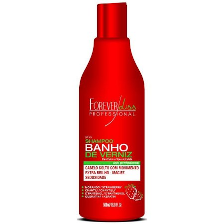 Forever Liss Shampoo Banho de Veniz Morango 500ml