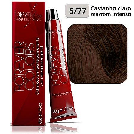Coloração - Marrom 5-77 Castanho Claro Marrom Intenso